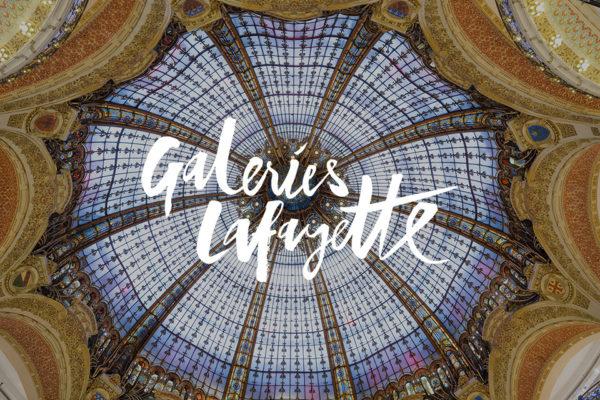 Paris : H/F, 20/25 ans pour publicité institutionnelle Galeries Lafayette